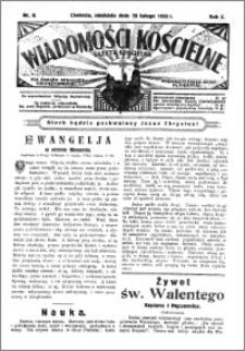 Wiadomości Kościelne : (gazeta kościelna) : dla parafij dekanatu chełmżyńskiego 1933, R. 5, nr 8