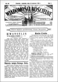 Wiadomości Kościelne : (gazeta kościelna) : dla parafij dekanatu chełmżyńskiego 1935, R. 7, nr 25