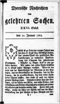 Thornische Nachrichten von Gelehrten Sachen, 1763.01.31 nr 26