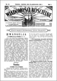 Wiadomości Kościelne : (gazeta kościelna) : dla parafij dekanatu chełmżyńskiego 1935, R. 7, nr 42