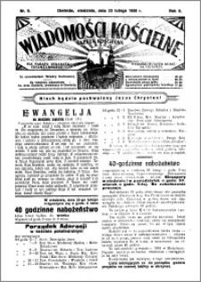 Wiadomości Kościelne : (gazeta kościelna) : dla parafij dekanatu chełmżyńskiego 1936, R. 8, nr 8