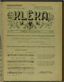 Klëka 1937, R. 1, nr 2