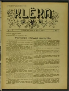 Klëka 1938, R. 2, nr 1