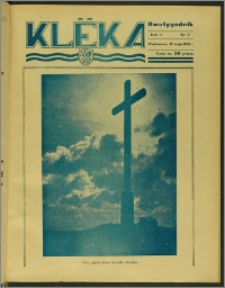 Klëka 1938, R. 2, nr 9