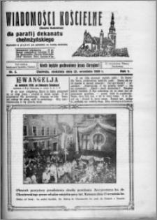 Wiadomości Kościelne : (gazeta kościelna) : dla parafij dekanatu chełmżyńskiego 1929, R. 1, nr 2