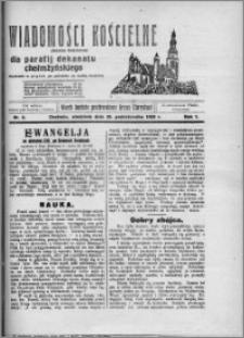 Wiadomości Kościelne : (gazeta kościelna) : dla parafij dekanatu chełmżyńskiego 1929, R. 1, nr 6