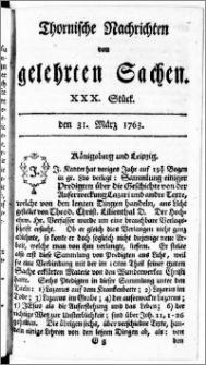 Thornische Nachrichten von Gelehrten Sachen, 1763.03.31 nr 30