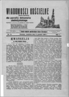 Wiadomości Kościelne : (gazeta kościelna) : dla parafij dekanatu chełmżyńskiego 1929, R. 1, nr 13