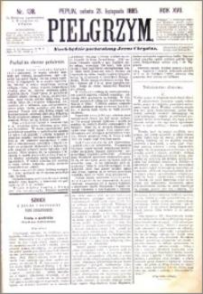 Pielgrzym, pismo religijne dla ludu 1885 nr 138
