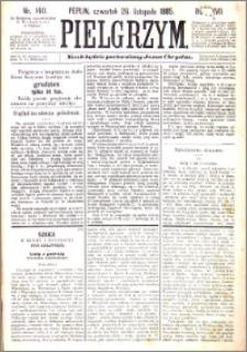 Pielgrzym, pismo religijne dla ludu 1885 nr 140