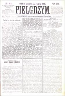 Pielgrzym, pismo religijne dla ludu 1885 nr 143