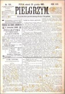 Pielgrzym, pismo religijne dla ludu 1885 nr 154