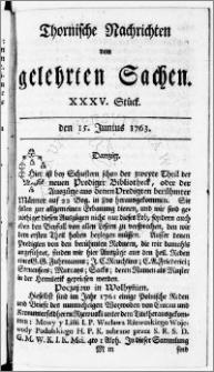 Thornische Nachrichten von Gelehrten Sachen, 1763.06.15 nr 35