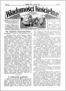 Wiadomości Kościelne : przy kościele św. Jana 1930-1931, R. 2, nr 10