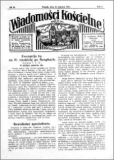 Wiadomości Kościelne : przy kościele św. Jana 1930-1931, R. 2, nr 30