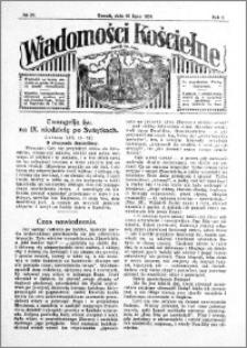 Wiadomości Kościelne : przy kościele św. Jana 1930-1931, R. 2, nr 35