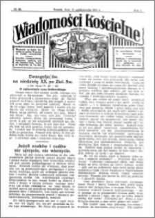 Wiadomości Kościelne : przy kościele św. Jana 1930-1931, R. 2, nr 46