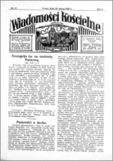 Wiadomości Kościelne : przy kościele św. Jana 1931-1932, R. 3, nr 17