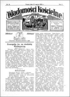 Wiadomości Kościelne : przy kościele św. Jana 1931-1932, R. 3, nr 18