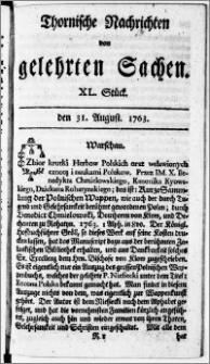 Thornische Nachrichten von Gelehrten Sachen, 1763.08.31 nr 40