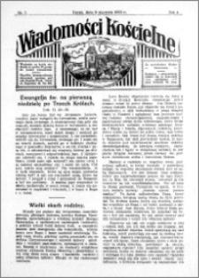 Wiadomości Kościelne : przy kościele św. Jana 1932-1933, R. 4, nr 7