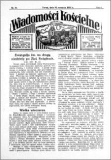 Wiadomości Kościelne : przy kościele św. Jana 1932-1933, R. 4, nr 30