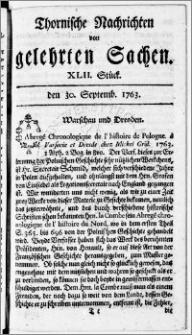 Thornische Nachrichten von Gelehrten Sachen, 1763.09.30 nr 42