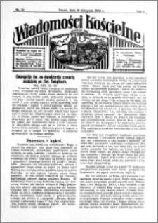 Wiadomości Kościelne : przy kościele św. Jana 1932-1933, R. 4, nr 52