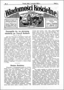 Wiadomości Kościelne : przy kościele św. Jana 1933-1934, R. 5, nr 6