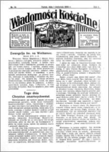 Wiadomości Kościelne : przy kościele św. Jana 1933-1934, R. 5, nr 18