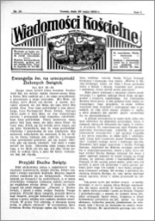 Wiadomości Kościelne : przy kościele św. Jana 1933-1934, R. 5, nr 25