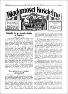 Wiadomości Kościelne : przy kościele św. Jana 1933-1934, R. 5, nr 41