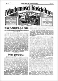 Wiadomości Kościelne : przy kościele św. Jana 1934-1935, R. 6, nr 5