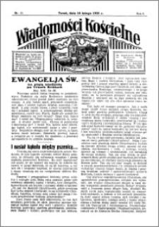 Wiadomości Kościelne : przy kościele św. Jana 1934-1935, R. 6, nr 11