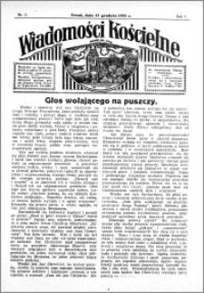 Wiadomości Kościelne : przy kościele św. Jana 1935-1936, R. 7, nr 3