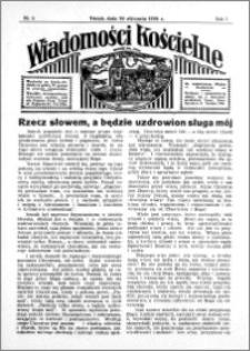 Wiadomości Kościelne : przy kościele św. Jana 1935-1936, R. 7, nr 9