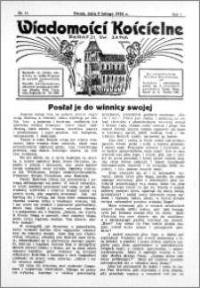 Wiadomości Kościelne : przy kościele św. Jana 1935-1936, R. 7, nr 11
