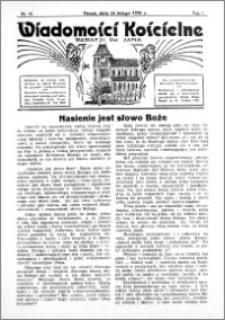 Wiadomości Kościelne : przy kościele św. Jana 1935-1936, R. 7, nr 12