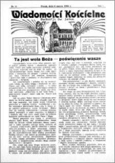 Wiadomości Kościelne : przy kościele św. Jana 1935-1936, R. 7, nr 15