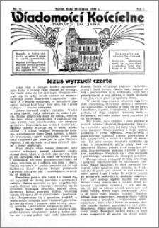 Wiadomości Kościelne : przy kościele św. Jana 1935-1936, R. 7, nr 16