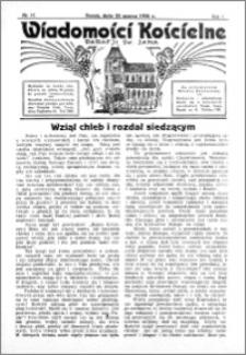 Wiadomości Kościelne : przy kościele św. Jana 1935-1936, R. 7, nr 17