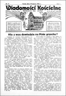 Wiadomości Kościelne : przy kościele św. Jana 1935-1936, R. 7, nr 18