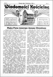 Wiadomości Kościelne : przy kościele św. Jana 1935-1936, R. 7, nr 19