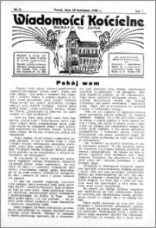Wiadomości Kościelne : przy kościele św. Jana 1935-1936, R. 7, nr 21