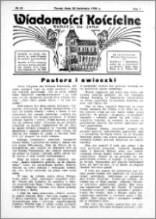 Wiadomości Kościelne : przy kościele św. Jana 1935-1936, R. 7, nr 22