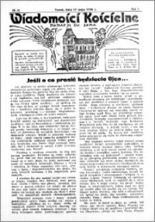 Wiadomości Kościelne : przy kościele św. Jana 1935-1936, R. 7, nr 25