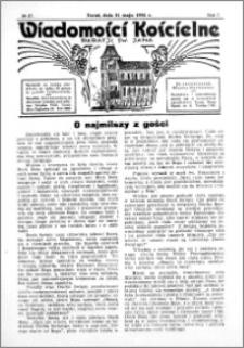 Wiadomości Kościelne : przy kościele św. Jana 1935-1936, R. 7, nr 27