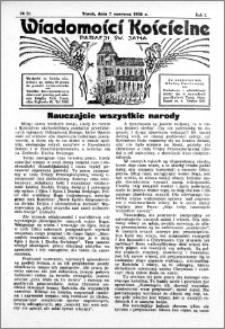 Wiadomości Kościelne : przy kościele św. Jana 1935-1936, R. 7, nr 28