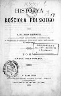 Epoka piastowska