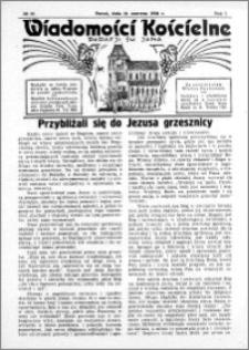 Wiadomości Kościelne : przy kościele św. Jana 1935-1936, R. 7, nr 30